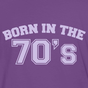Indigo Born in the 70s T-Shirts - Männer Premium T-Shirt