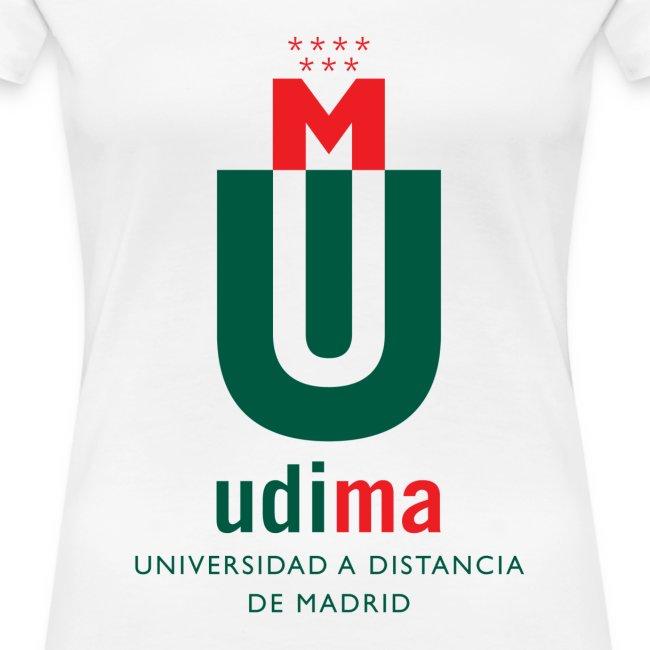 Camiseta mujer UDIMA color