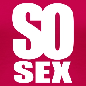 Rosa so sex T-shirts - Premium-T-shirt dam