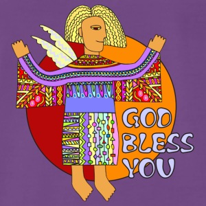 GOD BLESS YOU - Männer Premium T-Shirt