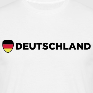 Sand beige Germany Emblem Side 2 (3c, NEU) Men's T-Shirts - Men's T-Shirt