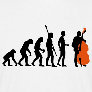 evolution_bass_2c T-shirts - Mannen T-shirt