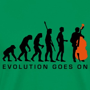 evolution_bass_2c_b T-shirts - Mannen Premium T-shirt