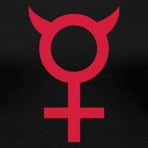 Schwarz devil_woman T-Shirts - Frauen Premium T-Shirt