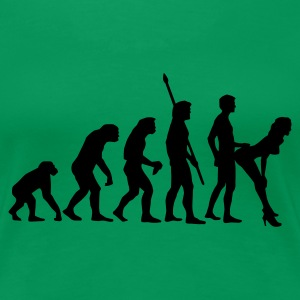 fucking_evolution_b T-Shirts - Women's Premium T-Shirt