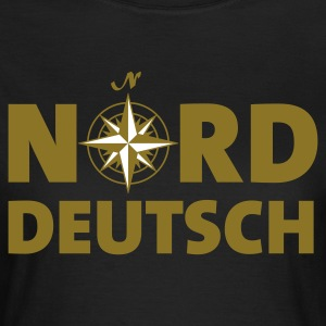Chocolate norddeutsch_windrose_2c T-Shirts - Frauen T-Shirt