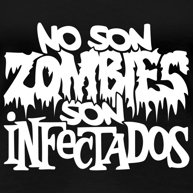 No son Zombies son Infectados