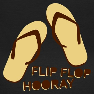 Olive Flip Flop Hooray T-Shirts - Frauen T-Shirt