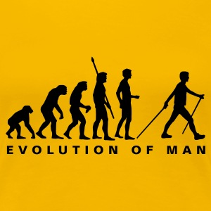 evolution_nordic_walking_b T-Shirts - Women's Premium T-Shirt