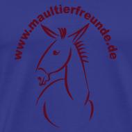 Motiv ~ Männer Basis-T-Shirt Maultierfreunde