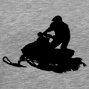 Snow Mobile - Men's Premium T-Shirt