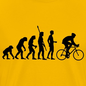 evolution_cycling T-Shirts - Men's Premium T-Shirt