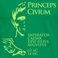 Diseño ~ Camiseta Hombre Basis Princeps August