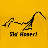 Motiv ~ Girlieshirt Ski Haserl