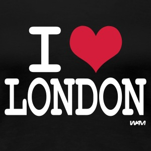 Svart i love london by wam T-skjorter - Premium T-skjorte for kvinner