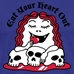 heart_eat_girl_3c T-Shirts - Men's Premium T-Shirt