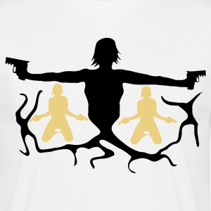 Sand girl_loves_weapon7 T-Shirts - Männer T-Shirt