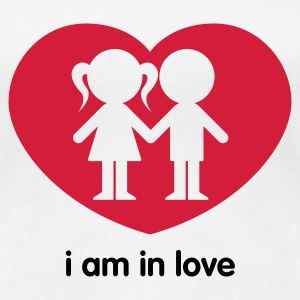 i am in love - Frauen Premium T-Shirt