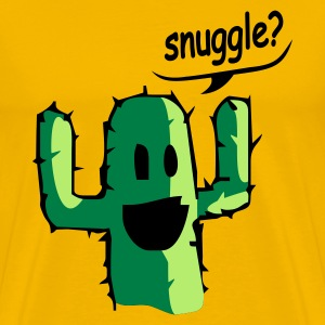 Yellow snuggle Men's T-Shirts - Men's Premium T-Shirt