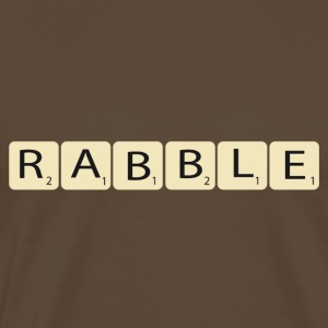 rabble - Mannen Premium T-shirt