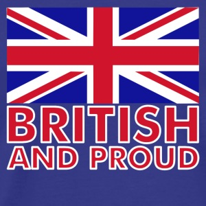 Sky British and Proud Men's T-Shirts - Men's Premium T-Shirt