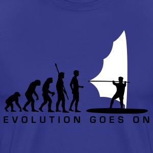 evolution_windsurfer_b T-Shirts - Men's Premium T-Shirt