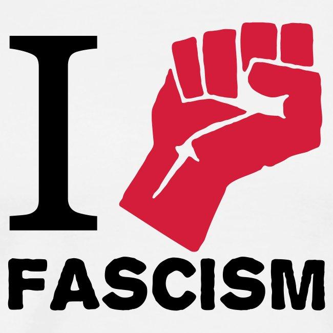 I FIGHT FASCISM TEE