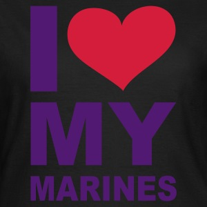 Olive I love my Marines eushirt.com T-Shirts - Frauen T-Shirt