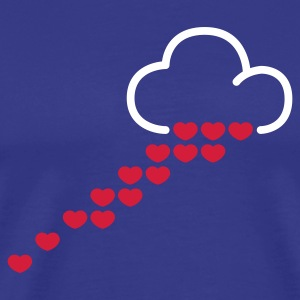 Sky Love is in the air © T-Shirts - Koszulka męska Premium