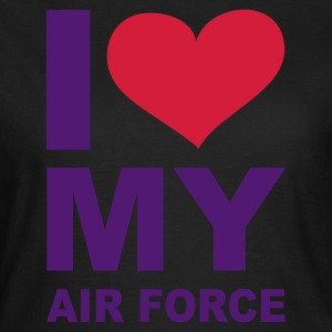 Olive I love my Air Force - eushirt.com T-Shirts - Frauen T-Shirt