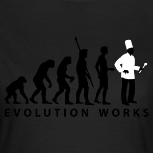 evolution_koch_2c_b T-shirts - Vrouwen T-shirt