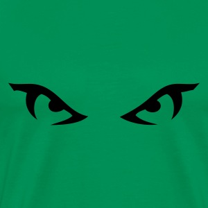 Khaki green eyes_1 Men's T-Shirts - Men's Premium T-Shirt