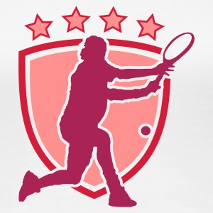 Tennis - Frauen Premium T-Shirt