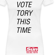 Design ~ Vote Tory This Time