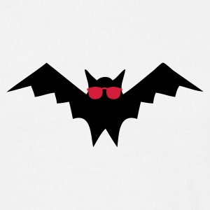Sandbeige Blind as a Bat T-shirts - T-shirt herr