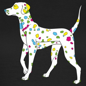 Noble brown colorfully dog - dalmatiner Women's T-Shirts - Women's T-Shirt