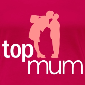 Ruby red Top Mum - mothers day Women's T-Shirts - Women's Premium T-Shirt