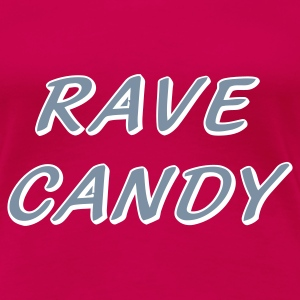 Pink Rave Candy Acid House T-shirt - Women's Premium T-Shirt