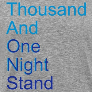 thousand and one night stand (2colors) T-Shirts - Premium T-skjorte for menn