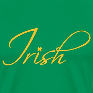 Irish Calligraphy - Men's Premium T-Shirt