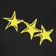 Motiv ~ Shirt Sterne Gelb GIRL
