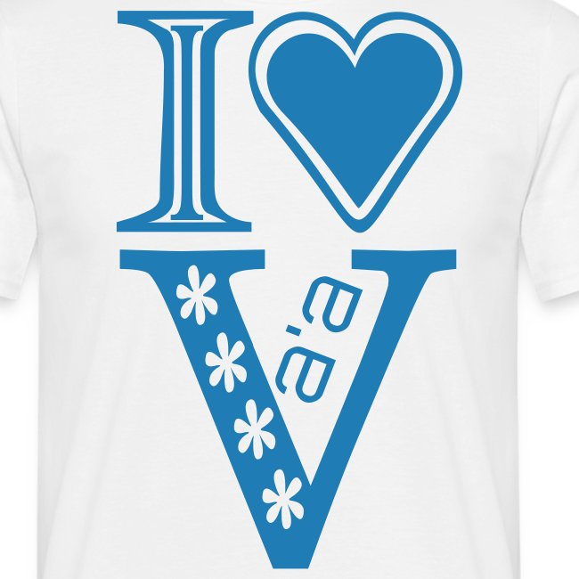 I LOVE VA'A T-SHIRT
