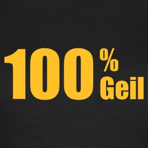Olive 100% geil © T-Shirts - Dame-T-shirt