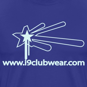 Royal blue star_promo Men's T-Shirts - Men's Premium T-Shirt