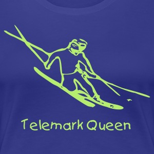 Telemark Queen Lady Tee - Women's Premium T-Shirt