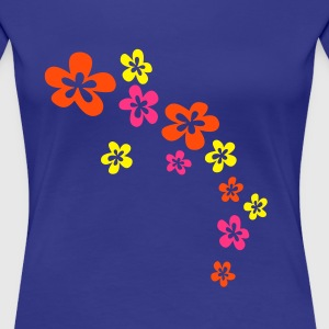 FLOWER POWER 1 - Frauen Premium T-Shirt