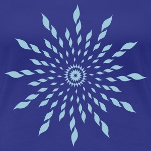 Divablau astral tribal (1c) T-Shirts - Frauen Premium T-Shirt
