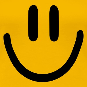 Gelb :) smiley T-Shirts - Frauen Premium T-Shirt