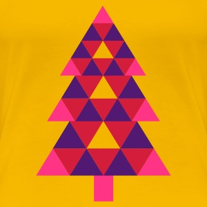 Light pink Christmas Tree (3c, NEU) Women's T-Shirts - Women's Premium T-Shirt