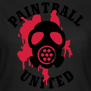 Olive Paintball United - Mask © T-Shirts - Frauen T-Shirt